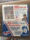 Ultra Pro Page 100 Sports Card Pages Jose Canseco Endorsed Vintage Sealed