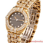 Chopard 4.25ct Diamond 18K Yellow Gold GSTAAD Ladie's Watch 85.1 Grams NR