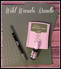 Stampin Up Retired Wild Wasabi Card Stock Ink Ink Refill Marker EUC