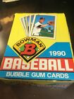 1990 BOWMAN BASEBALL UNOPENED WAX BOX 36 PACKS FRANK THOMAS RC