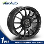 15x65 Rims 4x100 Matt Black Wheels For 4 Lug Civic CRX XA XB Integra Set of 1