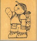 DJ Inkers Rubber Stamp o 25 Little Boy Camper S16
