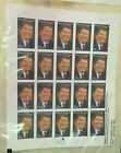 2004 US Stamp Ronald Reagan 37 Cent Stamps / 20 Stamp Sheet