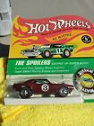 HOT WHEELS REDLINES THE SPOILERS SERIES RED HEAVY CHEVY CAMARO BLISTER PACK