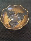 Vintage Gold Framed Clear Glass Dish/Bowl Very Beautiful, Great Condition