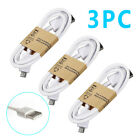 3 Pack 3FT 1M Micro USB Cabel FAST Data For Android Smart Phone