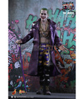 suicide squad The Joker purple coat Jared leto action figure 1/6 Hot Toys MMS382