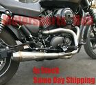 Stealth Pipes Harley Davidson XG Street 750 Stainless 2to1 Exhaust System 14 18