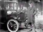 Vintage Photography Magnate Henry Ford Car Tycoon Canvas Art Print