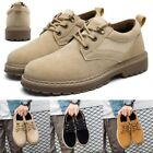 Mens Antiskid Martin Boots Lace Up Low Top Sneakers Casual Outdoor Boots 2018