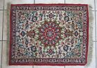 ANTIQUE HAND KNOTTED SILK ISFAHAN PERSIAN RUG 27