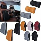 Car Seat Breathable Memory Cotton Pillow Cushion Neck Waist Car Soft Support TB