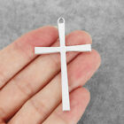 10Pcs Antique Silver Religious Holy Cross Charms Pendants Jewellery Craft Making