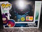 FUNKO POP DISNEY TAMATOA MOANA SDCC EXCLUSIVE W CON STICKER GLOW IN THE DARK