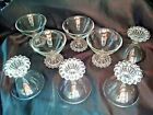 Boopie Berwick Retro Cocktail Glasses Set 8 Clear Anchor Hocking 50's Vintage