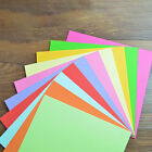100X Square Colored Origami Folding Lucky Wish Paper DIY Crafts Tools 15X15CM