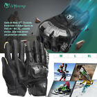 4Pcs Motorcycle Rider Protective Gloves Touch Screen Winter Waterproof Windproof