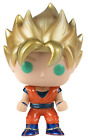 Funko POP! Anime: Dragonball Z Super Saiyan Goku Metallic Exclusive NEW