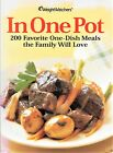 New Weight Watchers In One Pot Cookbook 200 Favorite One Dish Meals Youll Love