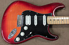 Fender Player Stratocaster HSS Plus Top Maple Board Electric Guitar Aged Cherry