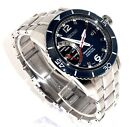 SEIKO KINETIC $695 MEN'S SPORTURA DIRECT DRIVE KINETIC WATCH, BLUE DIAL SRG017
