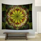 wall26 Spring Fractal Flower Fabric Wall Tapestry Home Decor 51x60 inches
