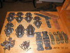 LARGE Lot of Antique Steamer Trunk Parts!