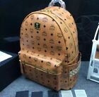 New Authentic MCM Large stark studded backpack