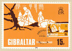 Gibraltar 1980 Cgristmas 15p PHQ Card FDC Unused VGC