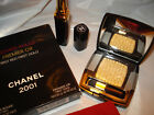 CCHANEL 2001 PREMIER ROUGE PREMIER OR FIRST RED LIPSTICK & FIRST GOLD EYESHADOW