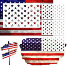 4 PACK 50 STAR STENCIL AMERICAN FLAG Painting Template Fabric Airbrush Wood