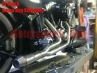 Stealth Pipes Harley Davidson Dyna Stainless 2to1 Exhaust System 06 17 Gen 1