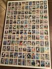 Topps Uncut Baseball Cards Sheets 1992 (Wall Art For Collectors