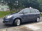 VAUXHALL ZAFIRA 19 CDTI  MANUAL 6 SPEED  DIESEL VERY GOOD DRIVING CONDITION