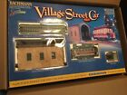 bachmann on30 Village Street Car Set With Extra Track Christmas O Scale