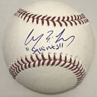 CHAUNCEY LEOPARDI SIGNED ROMLB BASEBALL SQUINTS THE SANDLOT BECKETT COA