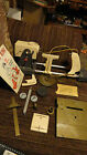 Vintage MARX Shop King and Booklet Accessories w box
