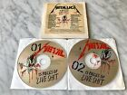 Metallica 15 Pieces Of Live Shit Binge & Purge 2 CD 1993 PROMO EXTREMELY RARE EX