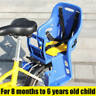 US Safety Bicycle Kids Child Front Back Baby Seat Bike Carrier with Handrail