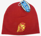 USC TROJANS SOUTHERN CAL NCAA BEANIE TOP OF THE WORLD SIMPLE KNIT CAP HAT NWT!