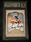 2012 Topps Gypsy Queen Sandy Koufax Autograph On Card Dodgers BGS 9 10 Nice!