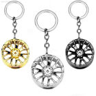 75D6 Alloy Women Wheel Key Buckle Small Gift Car Keychain Key Holder