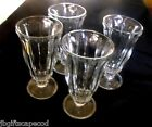 VINTAGE SODA FOUNTAIN/SUNDAE GLASSES - KTG INDONESIA IMPRINT ON BOTTOM - LQQK!!