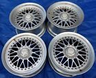 Racing Hart ZR Mesh 3 Piece Old School JDM 17x95 8 Wheels 5x1143 Nissan 300zx