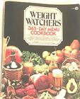 Weight Watchers 365 Day Menu Cookbook 1983