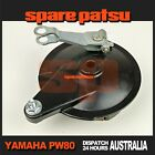 Yamaha Pw80 Rear Wheel Brake Plate Hub Assy Peewee 80