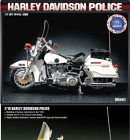 Harley DaviIdson Police 1/10 Scale Academy Pla Model Kit 15500 New Product