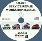 SMART FORTWO FORFOUR PULSE PASSION CITY ROADSTER BRABUS SERVICE MANUAL DVD