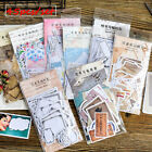 45pcs Vintage Memories Writable Paper Sticker Memo Diary Scrapbooking Stickers