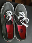 NEW Levis Womens Fossil Grey Canvas Casual Sneaker Shoes Sz 65 US